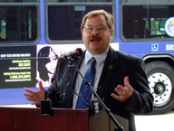 Bruce Elfant's office coordinated Dating Violence 