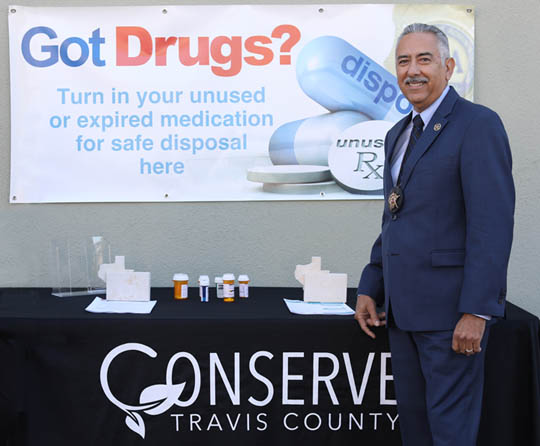 Constable Lopez introduces the new Drug Takeback Kiosk program